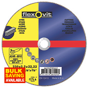 Flexovit Metal Cutting Discs 230 x 3.2 x 22.23mm Bore Pk of 5