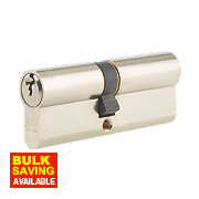 Union 6-Pin Euro Cylinder Lock 40-40 (80mm) Satin Nickel