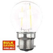 LAP Globe LED Lamp Clear BC 4W