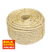 Sisal Natural Rope Light Brown 6mm x 30.5m