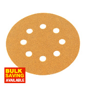 Norton Sanding Grip Disc 125mm 120 Grit Pack of 10