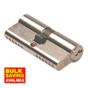 Union 6-Pin Euro Cylinder Lock 40-45 (85mm) Satin Nickel