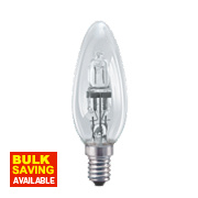 Osram Candle Halogen Lamp SES 30W