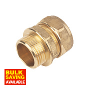 """Male Coupler 22mm x ¾"""""""