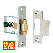 Roller Bolt Catches Satin Stainless Steel 32mm