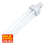 Sylvania Lynx D Compact Fluorescent Lamp Warm White G24D 2-Pin 1800Lm 26W