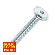 Joint Connector Bolts BZP M6 x 45mm 50 Pack
