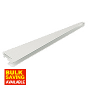 U-Brackets White 220 x 13mm Pack of 10