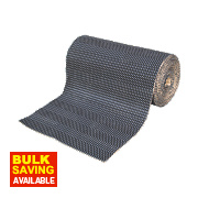 Duralay Medium Carpet Underlay 80lb Waffle 7.8mm 10m² Black