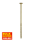Timco In-Dex Wafer Head Timber Screws Organic Green 6.7 x 175mm Pk50
