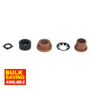 FloPlast Copper / MDPE Adaptor Kit 15 x 20mm