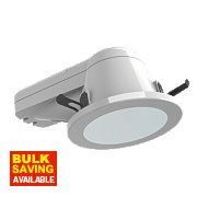 ASD Atom™ Round PL Bathroom Downlight Seal & Cover Kit Fixed CFL White 240V