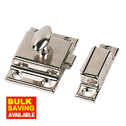 Cupboard Latch Nickel-Plated 54mm