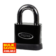 Squire Solid Steel Master Keyed Padlocks 10mm Dia. Shackle Pack of 10