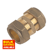 Straight Coupling 22mm Pack of 2