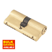 ERA 6-Pin Euro Cylinder Lock 35-35 (70mm) Brass