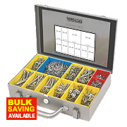 Turbo Silver General Trade Case Double-Self-Countersunk 1400Pcs