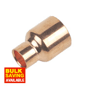 Flomasta End Feed Fitting Reducers 28 x 15mm Pack of 2