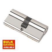 Securefast 6-Pin Keyed Alike Euro Cylinder Lock 35-35 (70mm) Pol. Nickel