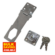 Smith & Locke Locking Hasp & Staple 117mm