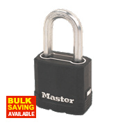 Master Lock Excell Weather Tough Padlock 50mm