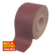 Flexovit Aluminium Oxide Sanding Roll 115mm x 25m 120 Grit