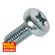 Rawlplug BZP Pan Head Machine Screws M5 x 12mm Pack of 25