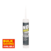 No Nonsense Builders Silicone White 310ml