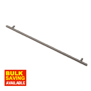 Rod Handle Polished Nickel 432mm