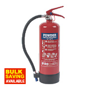 Firechief XTR Dry Powder Fire Extinguisher 4kg