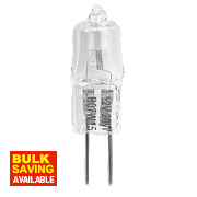Halogen Capsule Lamp G4 280Lm 12V 20W Pack of 5