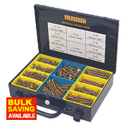 Goldscrew General Trade Case Double-Countersunk 1400Pcs
