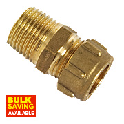 Conex Male Straight Connector Taper 302TA 15mm x ½""