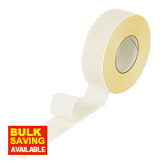 Double-Sided Tape White 50mm x 50m
