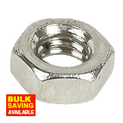A4 Stainless Steel Hex Nuts M4 Pack of 100