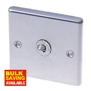 LAP 1-Gang 2-Way 10AX Toggle Switch Stainless Steel