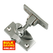 Brighton Sash Fastener Satin Chrome 58mm x 22mm