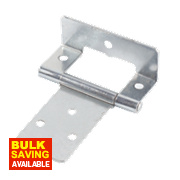 Cranked Hinges Zinc-Plated 39 x 50mm Pack of 2