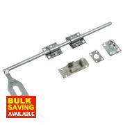 Locking Surface Bolt Galvanised 457mm