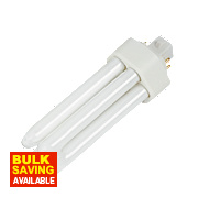 Osram Compact Fluorescent Lamp GX24D 2-Pin 900Lm 13W