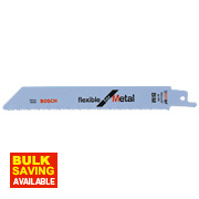 Bosch S922BF Sabre Saw Blades Flex Metal Pack of 5