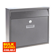 Yale Ohio Post Box Stainless Steel Satin