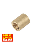 "Brass Socket ¼"" F x F"