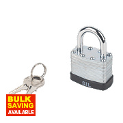 Smith & Locke Laminated Padlock 40mm