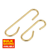 Brass C Links Small & Large 10 Piece Set
