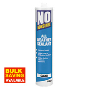 No Nonsense All-Weather Sealant Clear 310ml