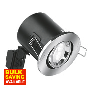 Aurora Fire Rated Adjustable LED Downlight IP20 Polished Chrome 4.5W