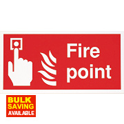 """Fire Point"" Sign 200 x 400mm"