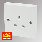 Crabtree 13A 1-Gang Unswitched Socket