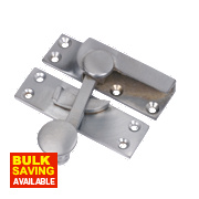 Sash Fastener Satin Chrome 63mm x 18mm